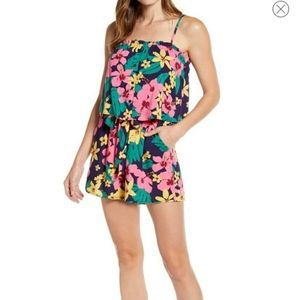 Gibson Layered Camisol Floral Romper
